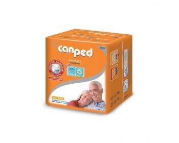 Canped Külotlu Hasta Bezi ( Medium, 10 PC)
