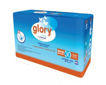 Glory Belbantlı Hasta Bezi ( Medium, 30 PC )