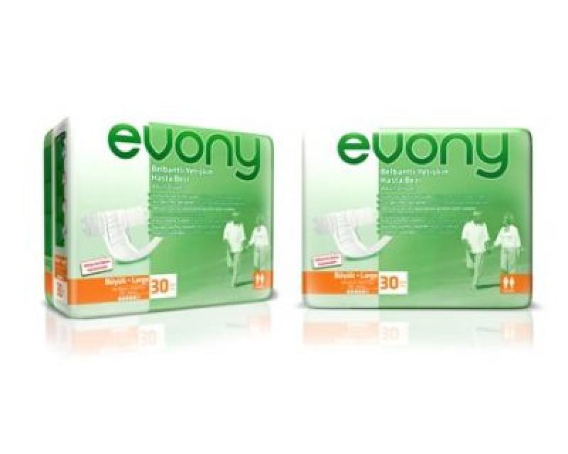 Evony Belbantlı Hasta Bezi (Large, 30 PC)